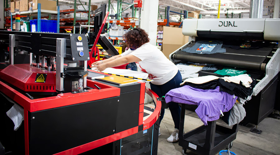 What is DTG Printing and Direct to Garment Printing Process